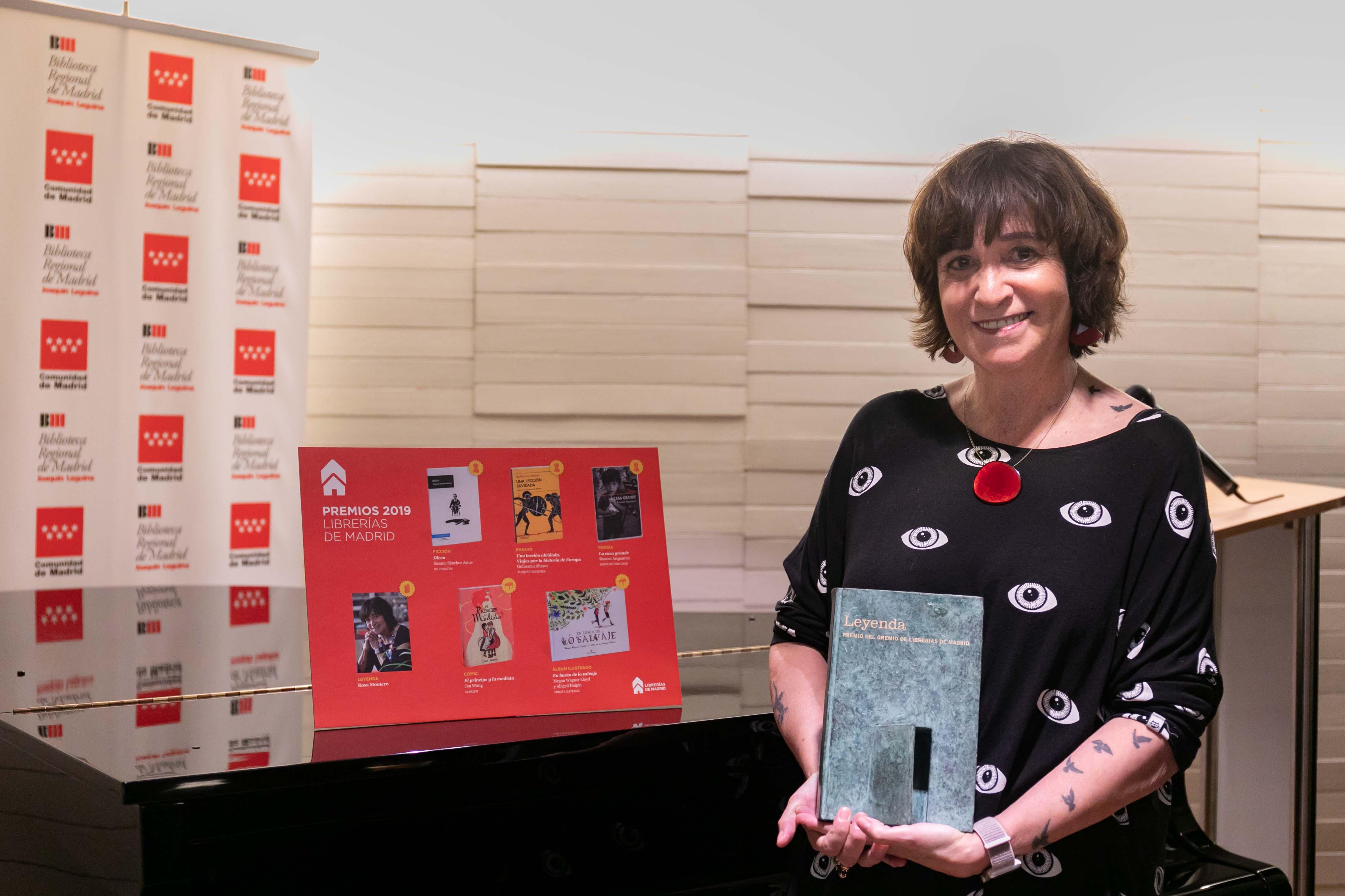 Rosa Montero, Premio Leyenda 2019
