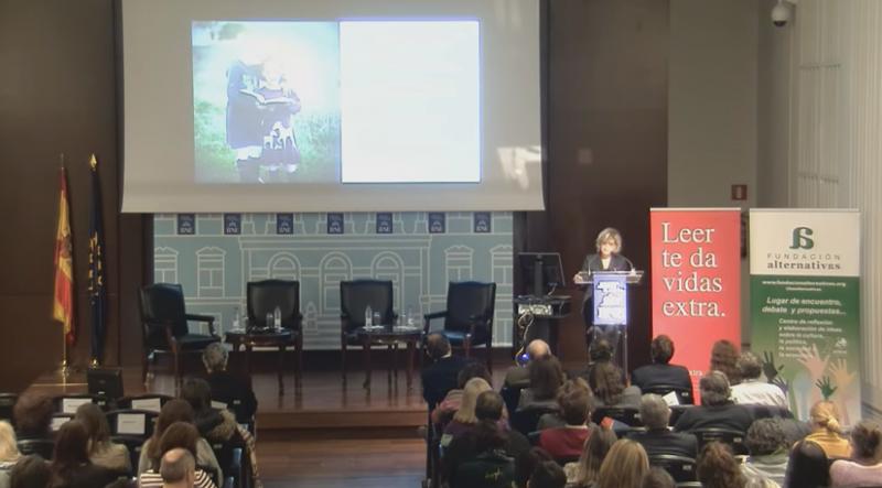 Panorámica Jornada 'Presente y futuro del libro y la lectura'