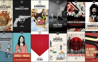collage cubiertas Libros del KO