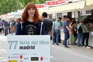 Paula Bonet en la Feria del Libro de Madrid