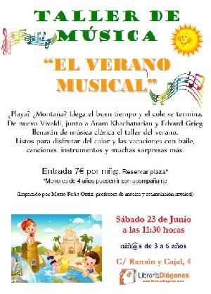 El verano musical María Peña