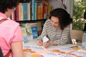 Elsa Punset en la Feria del Libro de Madrid