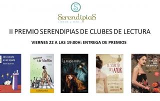 Premio Serendipias club de lectura