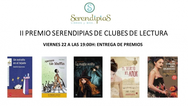 Se falla el II Premio Serendipias de clubes de lectura