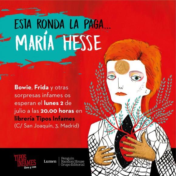 María Hesse en Tipos Infames