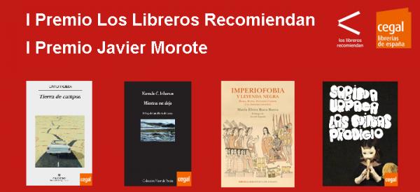 I Premio 'Los Libreros Recomiendan' y I Premio 'Javier Morote'