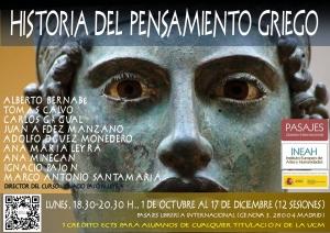 Flyer Curso Pensamiento Griego