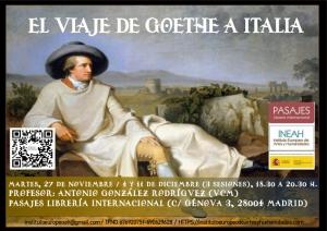 Curso El viaje de Goethe a Italia