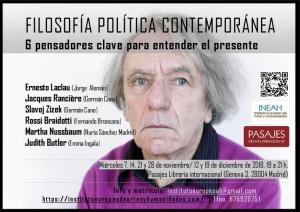 Curso Filosofía política contemporánea