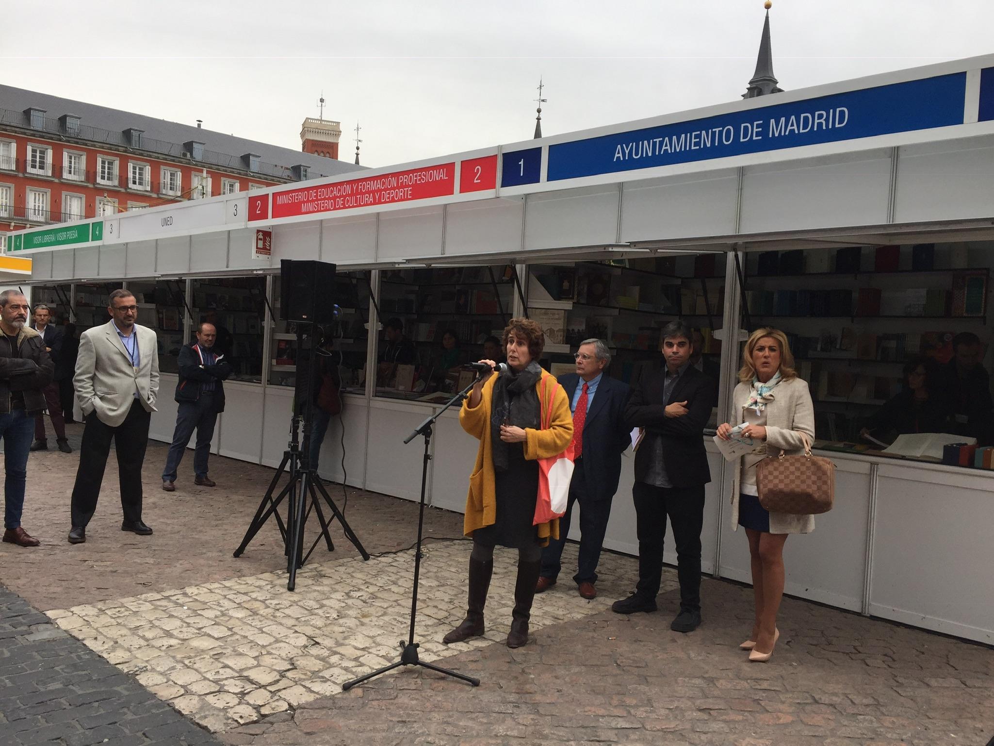 Arranca la II Feria de Editoriales y Librerías de Madrid con voluntad de perpetuarse