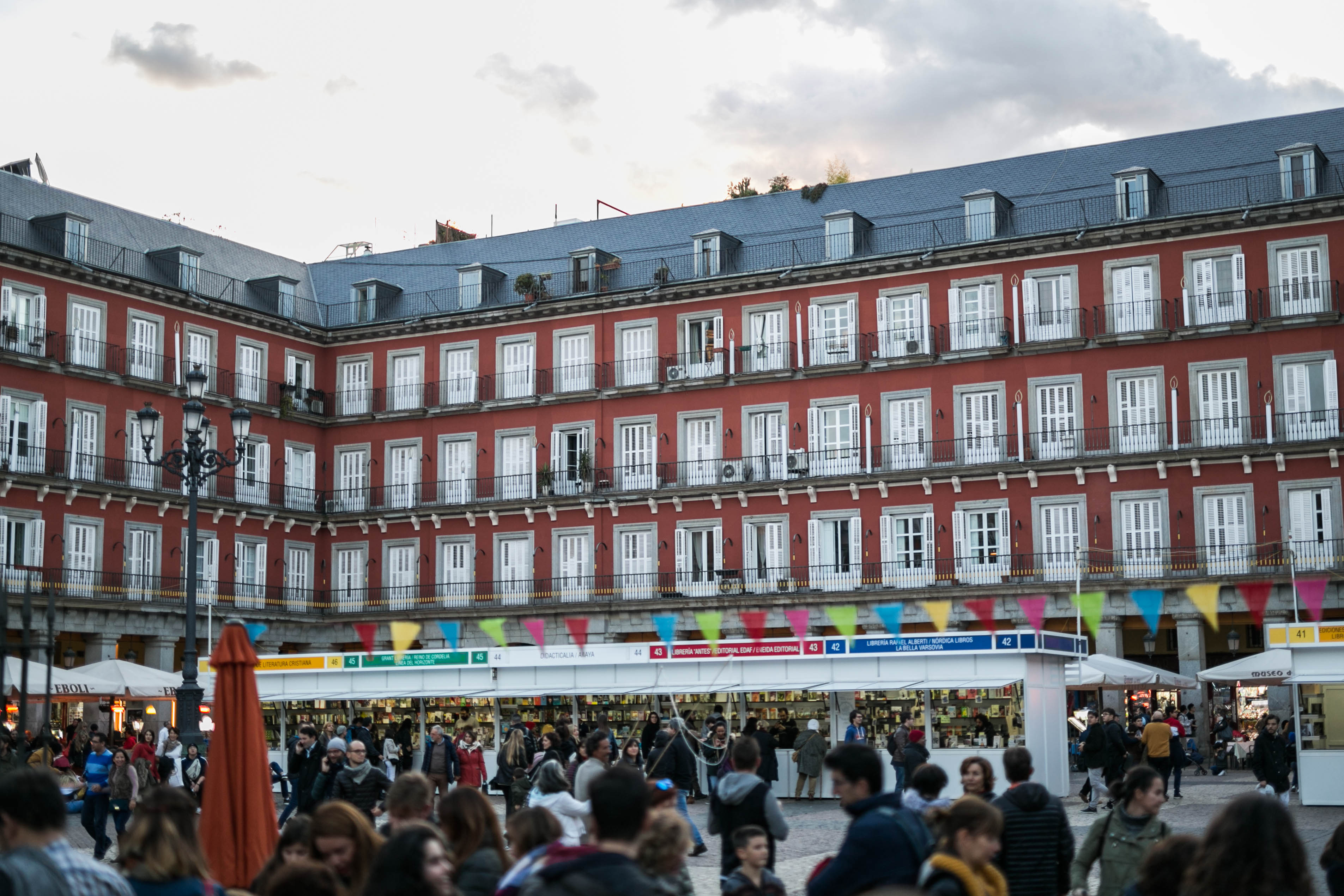 Finaliza la II Feria de Editoriales y Librerías de Madrid con un balance muy positivo