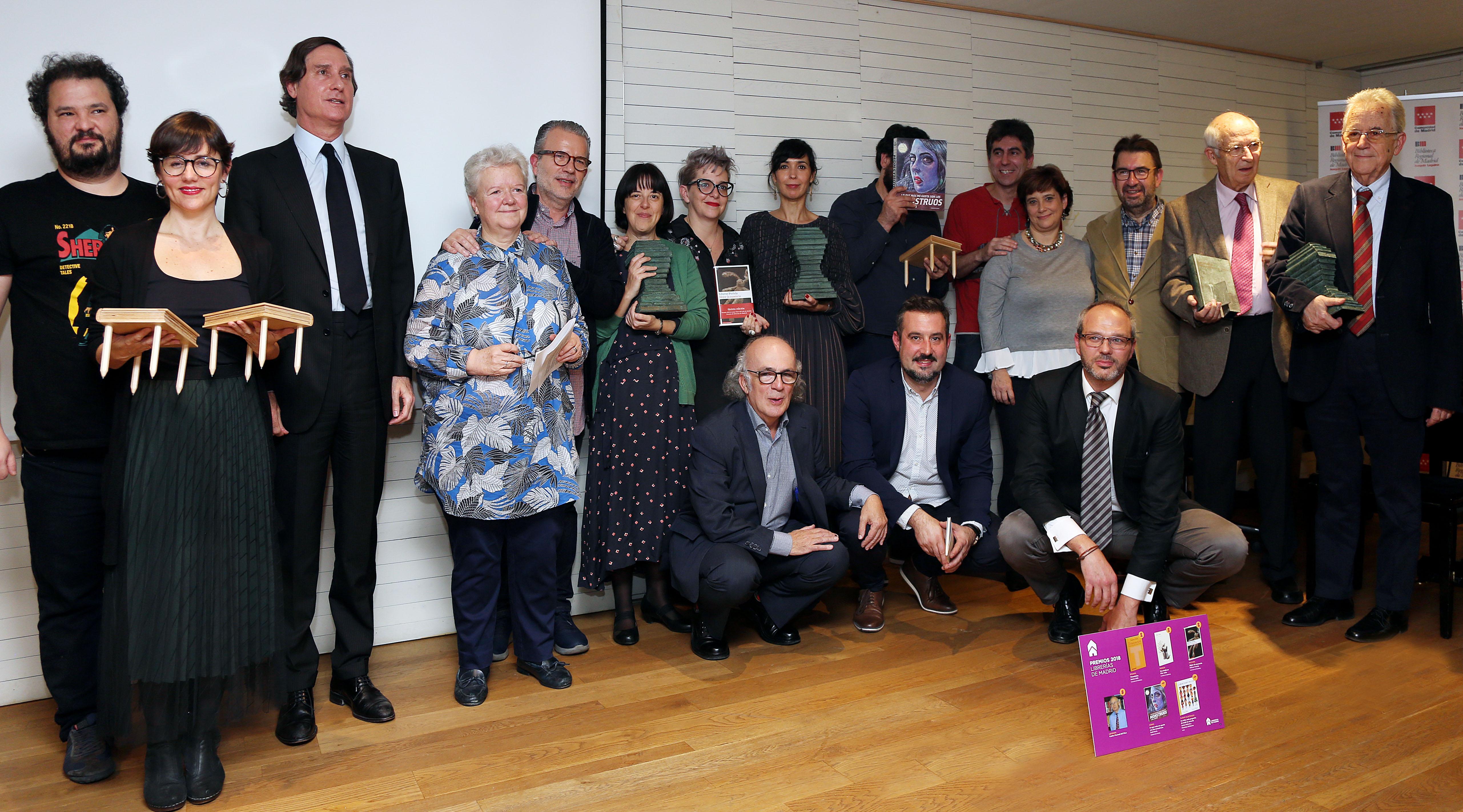 Ceremonia de entrega de los premios anuales de la Asociación de Librerías de Madrid