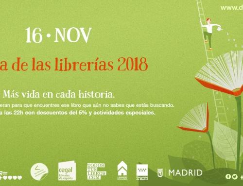 Las librerías de Madrid celebran su día grande