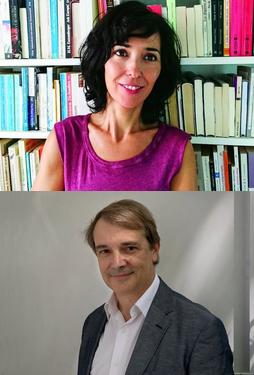 Edurne Portela y Joan Tarrida