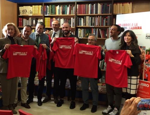 La librería Marcial Pons acogió la presentación de la segunda edición de 'Libros a la carrera'