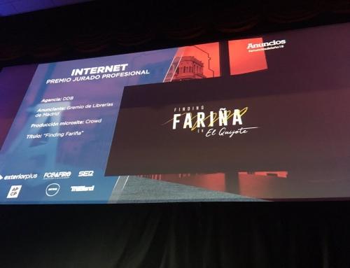 'Finding Fariña' gana el Premio Internet del Jurado Profesional de la revista 'Anuncios'