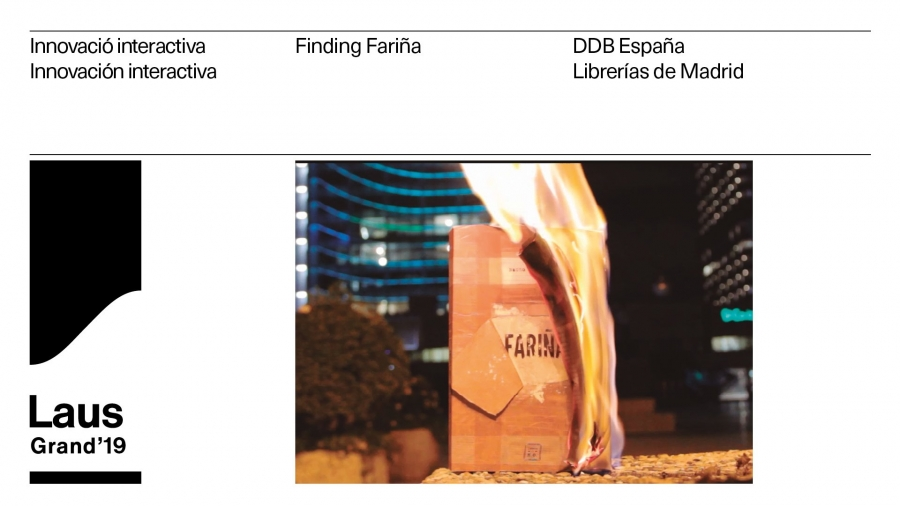 'Finding Fariña' se alza con el Grand Laus Digital 2019