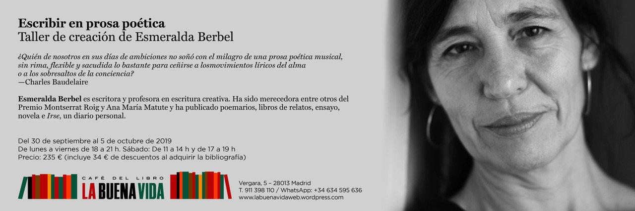 Esmeralda Berbel buena vida