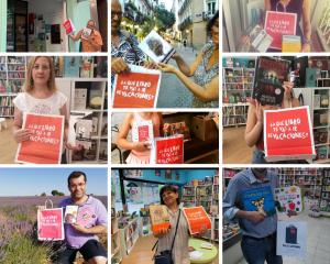 collage participantes #LibreríasEnVerano