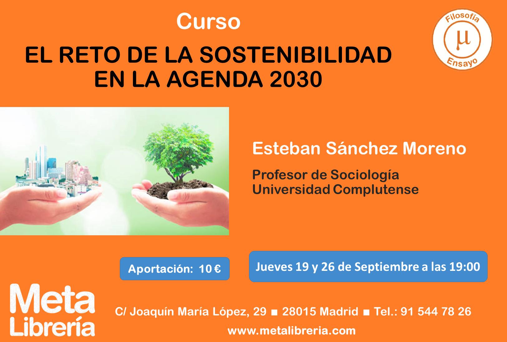 curso Meta Librería sostenibilidad