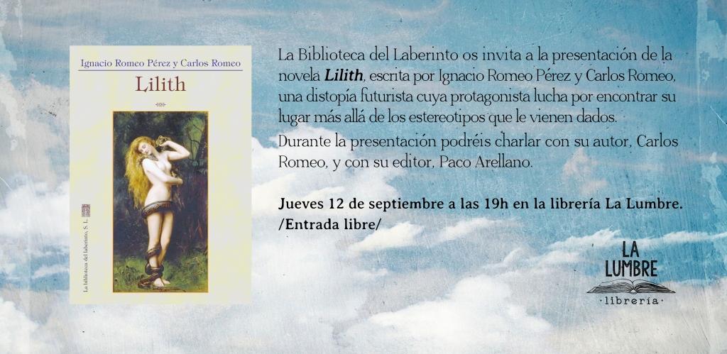 presentación de Lilith la lumbre