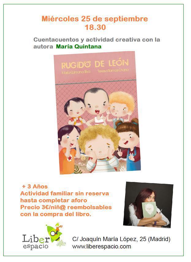 liberespacio Cuentacuentos con María Quintana