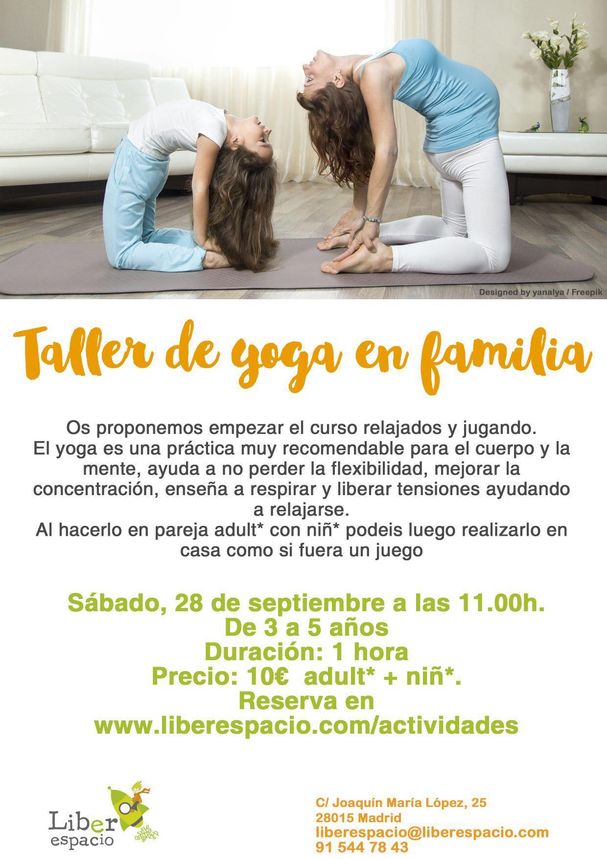 liberespacio Yoga en familia
