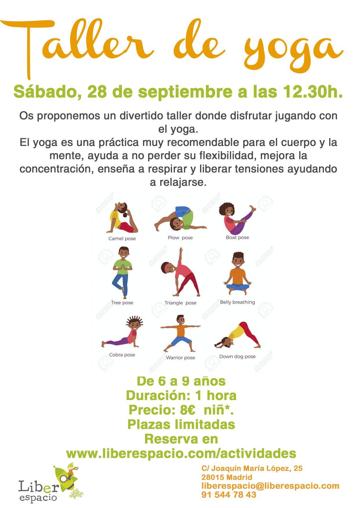 liberespacio Yoga para niños