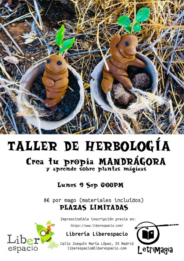 Taller de magia Herbología