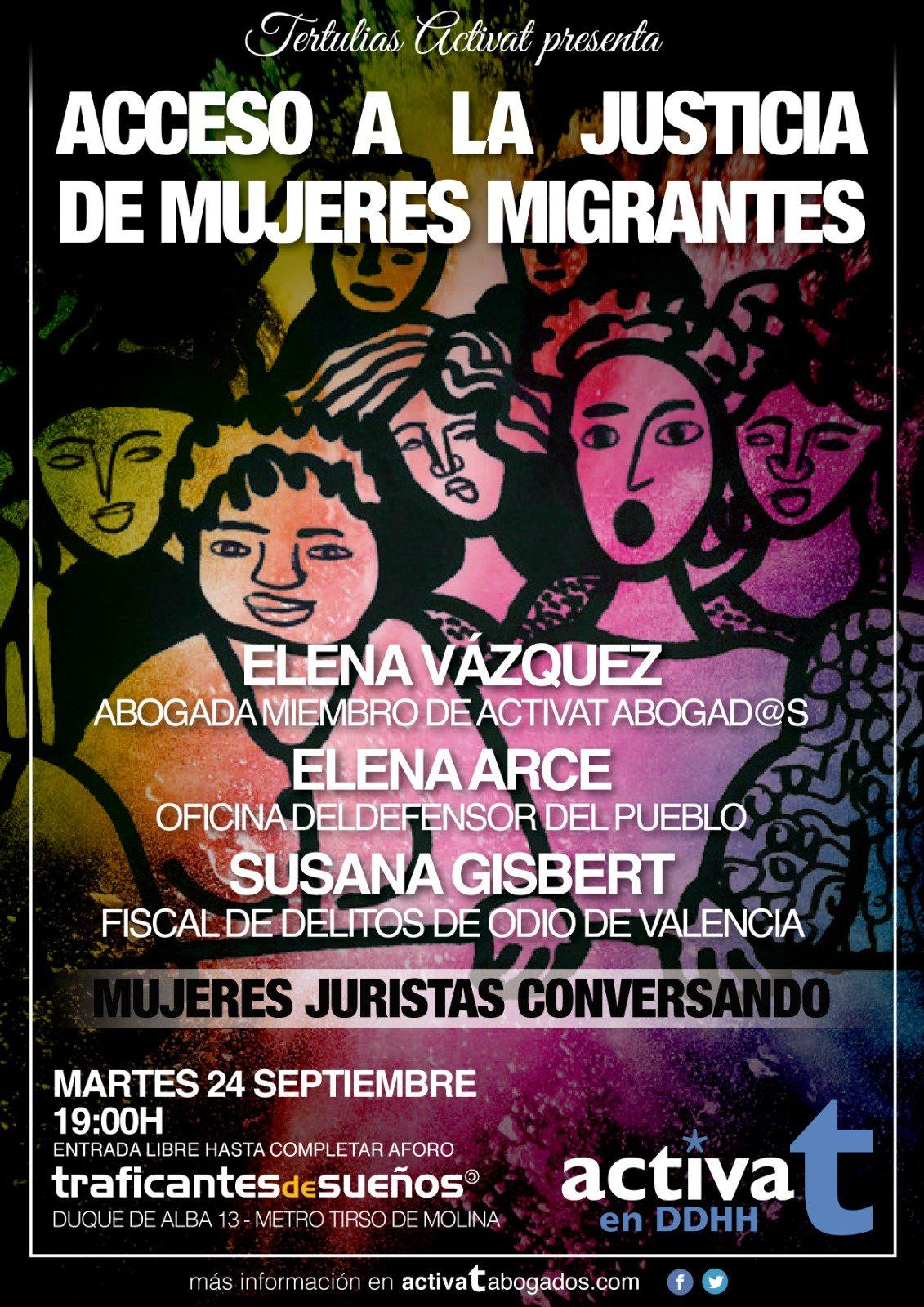 traficantes Acceso a la justicia de mujeres migrantes