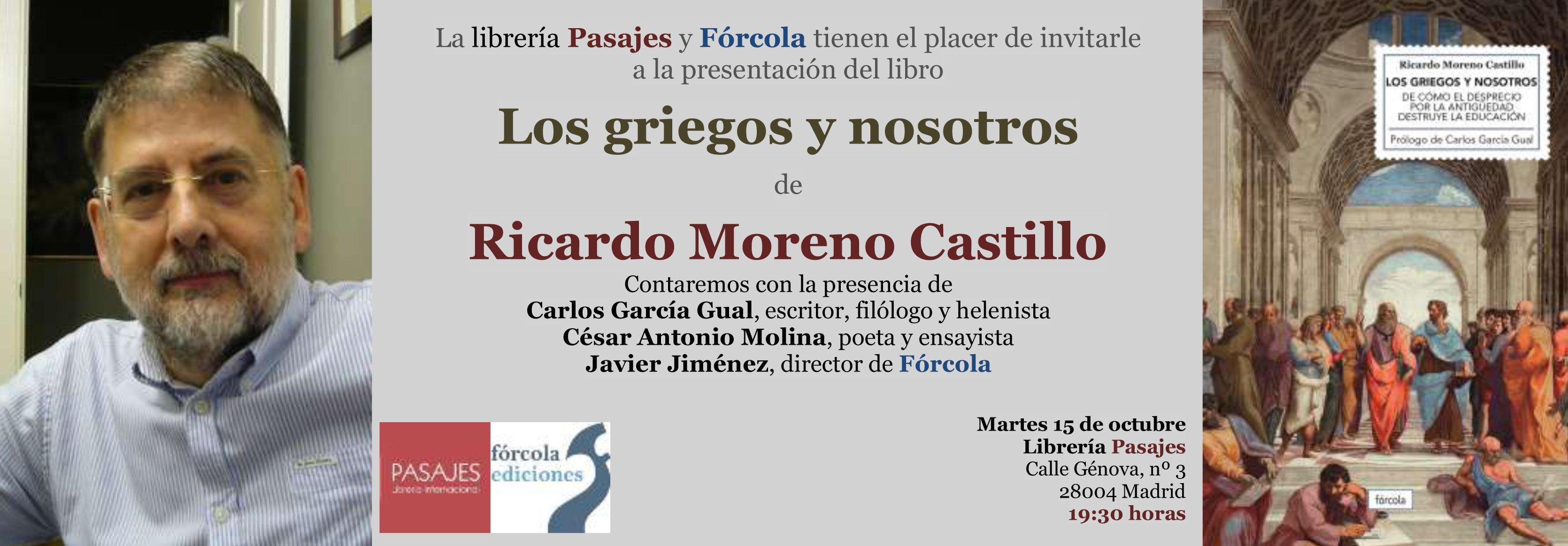 pasajes Ricardo Moreno Castillo