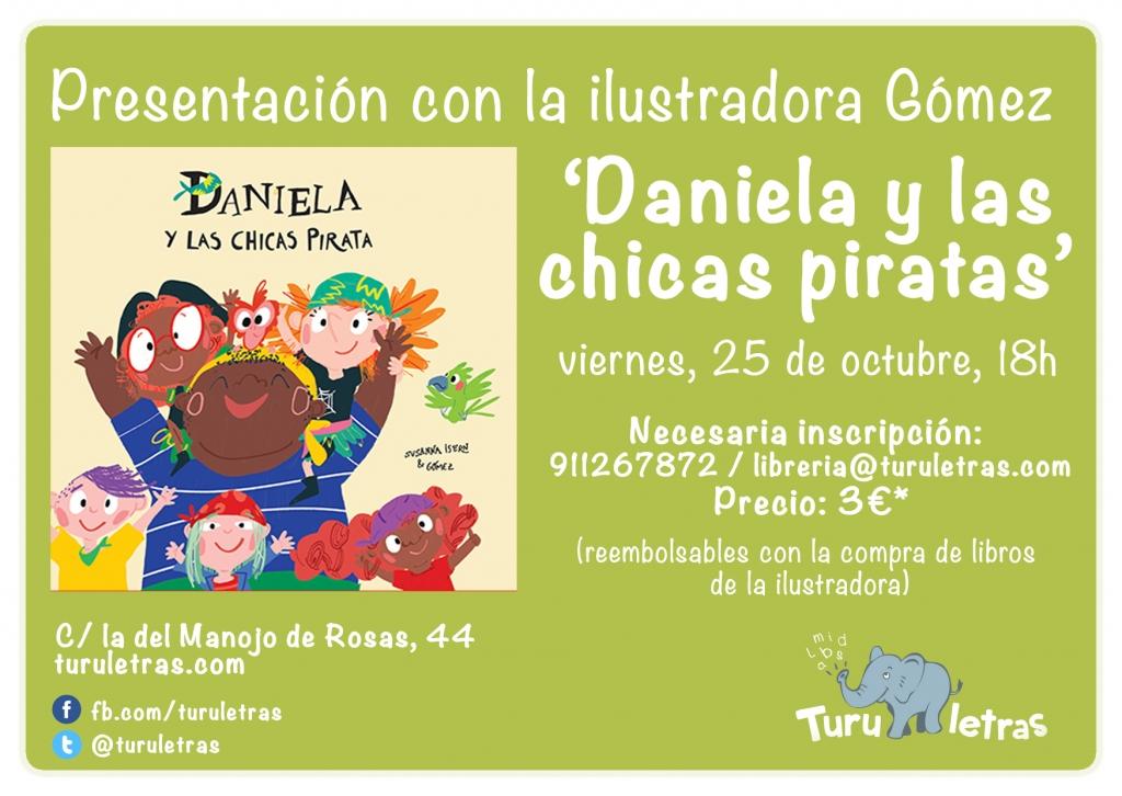 turuletras Daniela y las chicas piratas