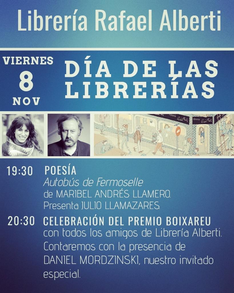 Día de las Librerías en Alberti