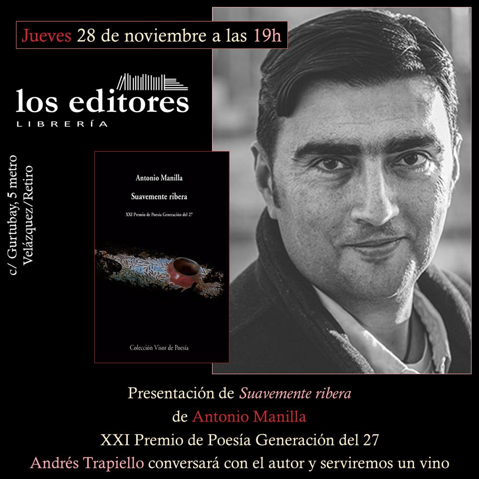 los editores Antonio Manilla