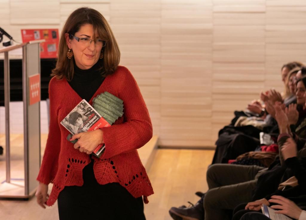 Rosana Acquaroni, autora de 'La casa grande', Mejor Poemario 2019