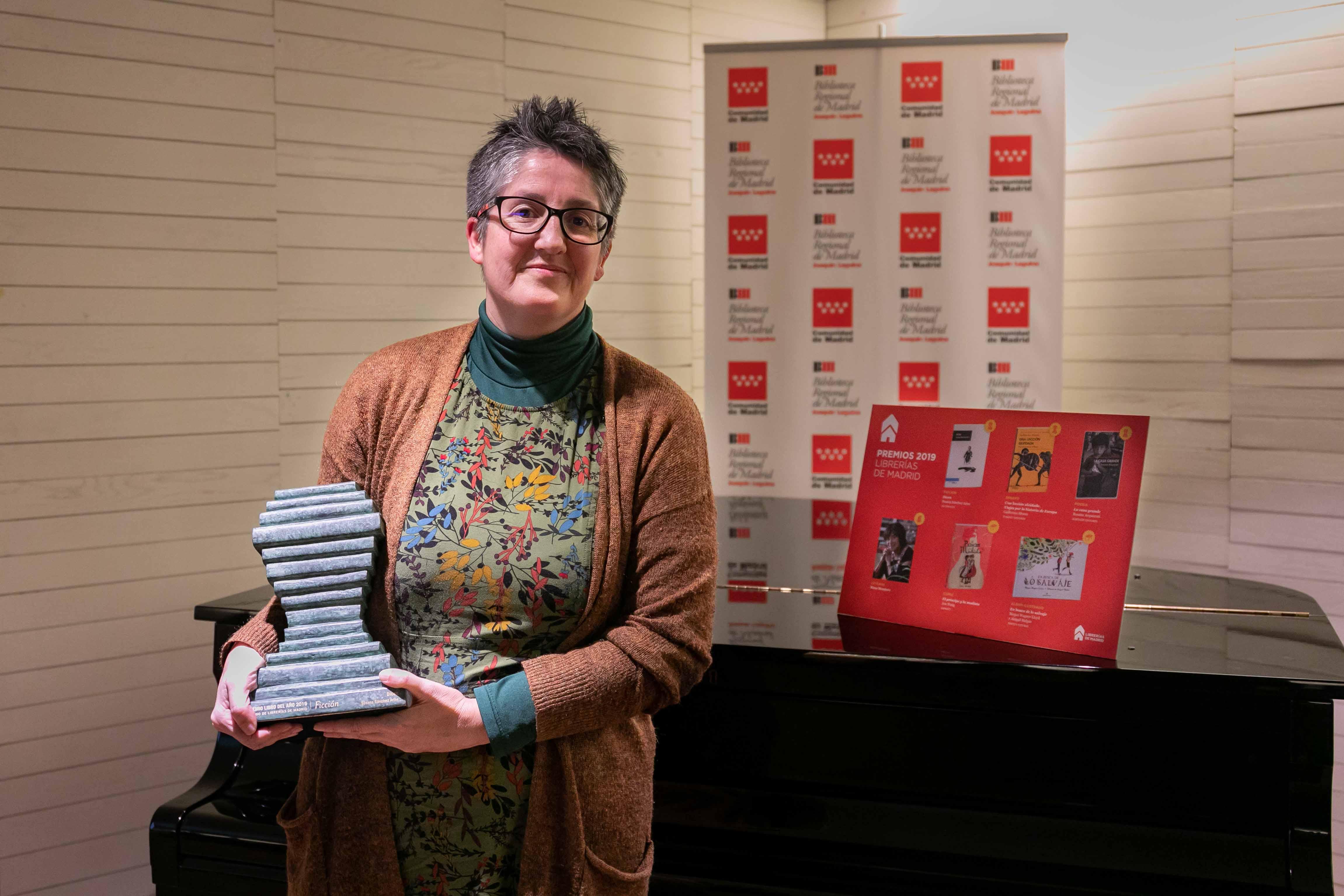 Susana Sánchez Arins, autora de 'Dicen', Mejor Libro de Ficción 2019