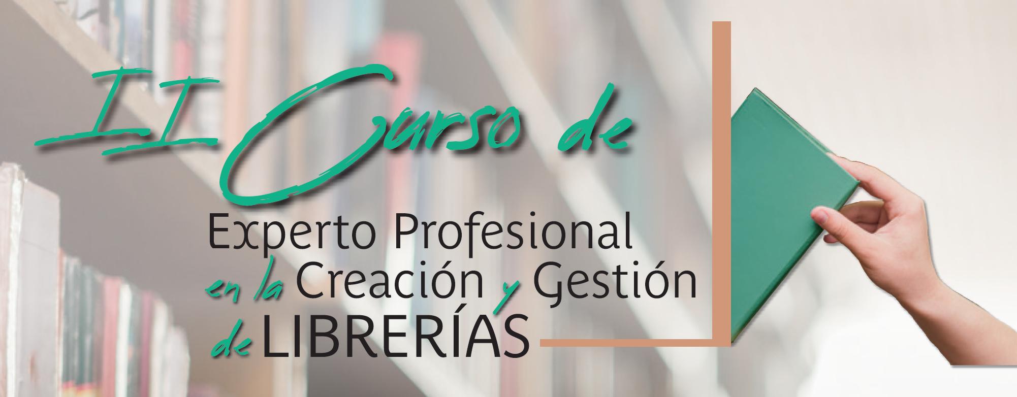 Abierto el plazo de matriculación para el II Curso de Creación y Gestión de Librerías