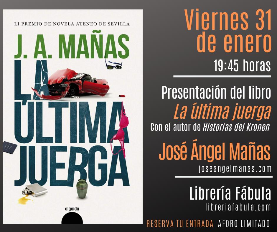 fabula José Ángel Mañas