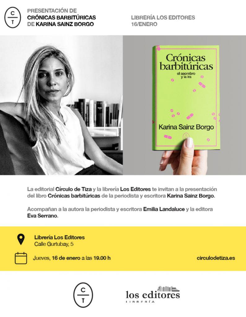 los editores Karina Sainz