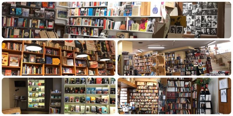 collage librerías de Madrid