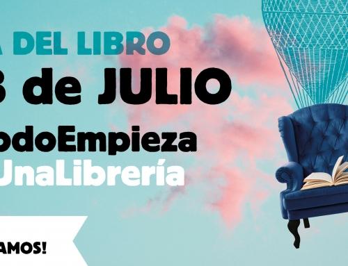 El próximo 23 de julio se celebrará el Día del Libro