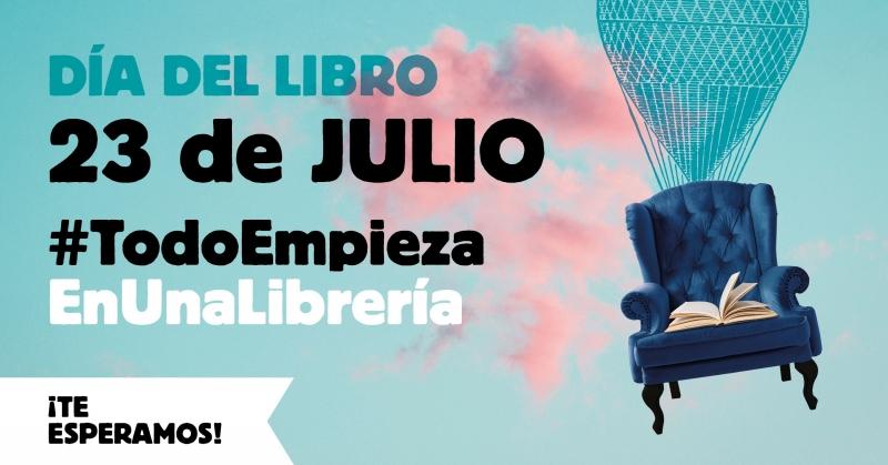 Imagen 2ª fase campaña #TodoEmpiezaEnUnaLibrería