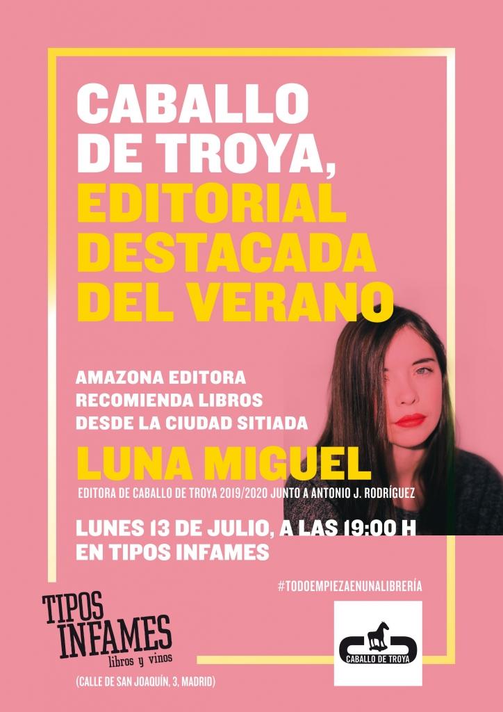Presentación de Amazona editora recomienda libros desde la ciudad sitiada