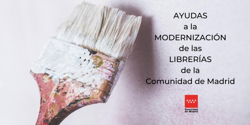 Ayudas Comunidad de Madrid modernización de librerías