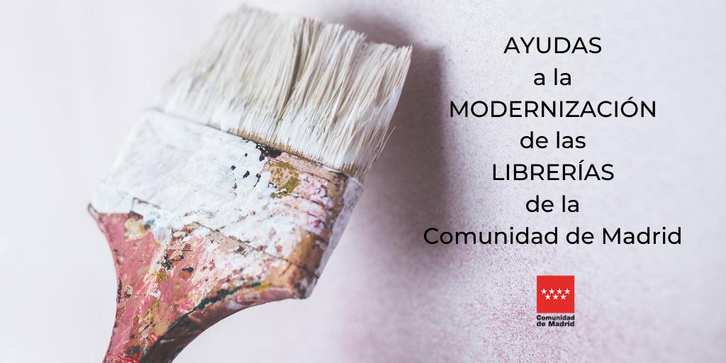 Publicadas las ayudas de la Comunidad de Madrid para la modernización de las librerías
