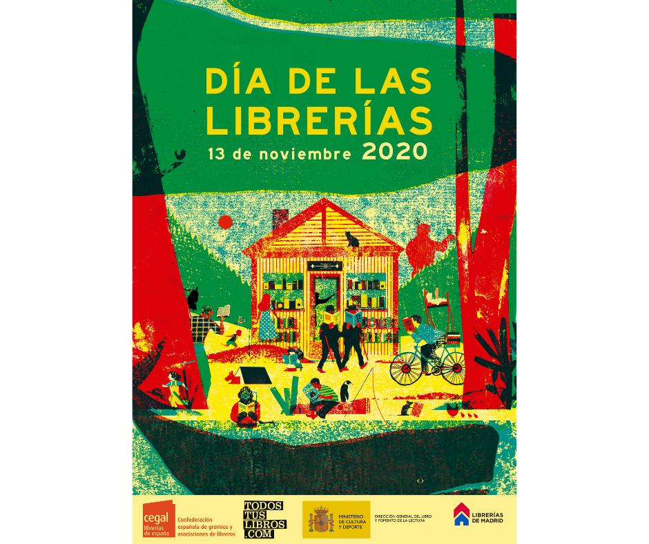 Arranca la campaña del Día de las Librerías 2020 que se celebrará el 13 de noviembre