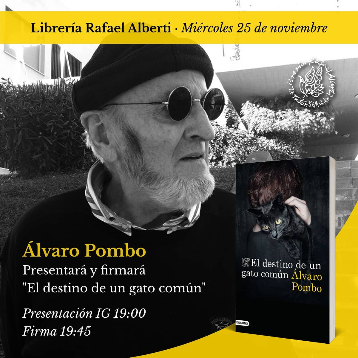 Álvaro Pombo en Alberti