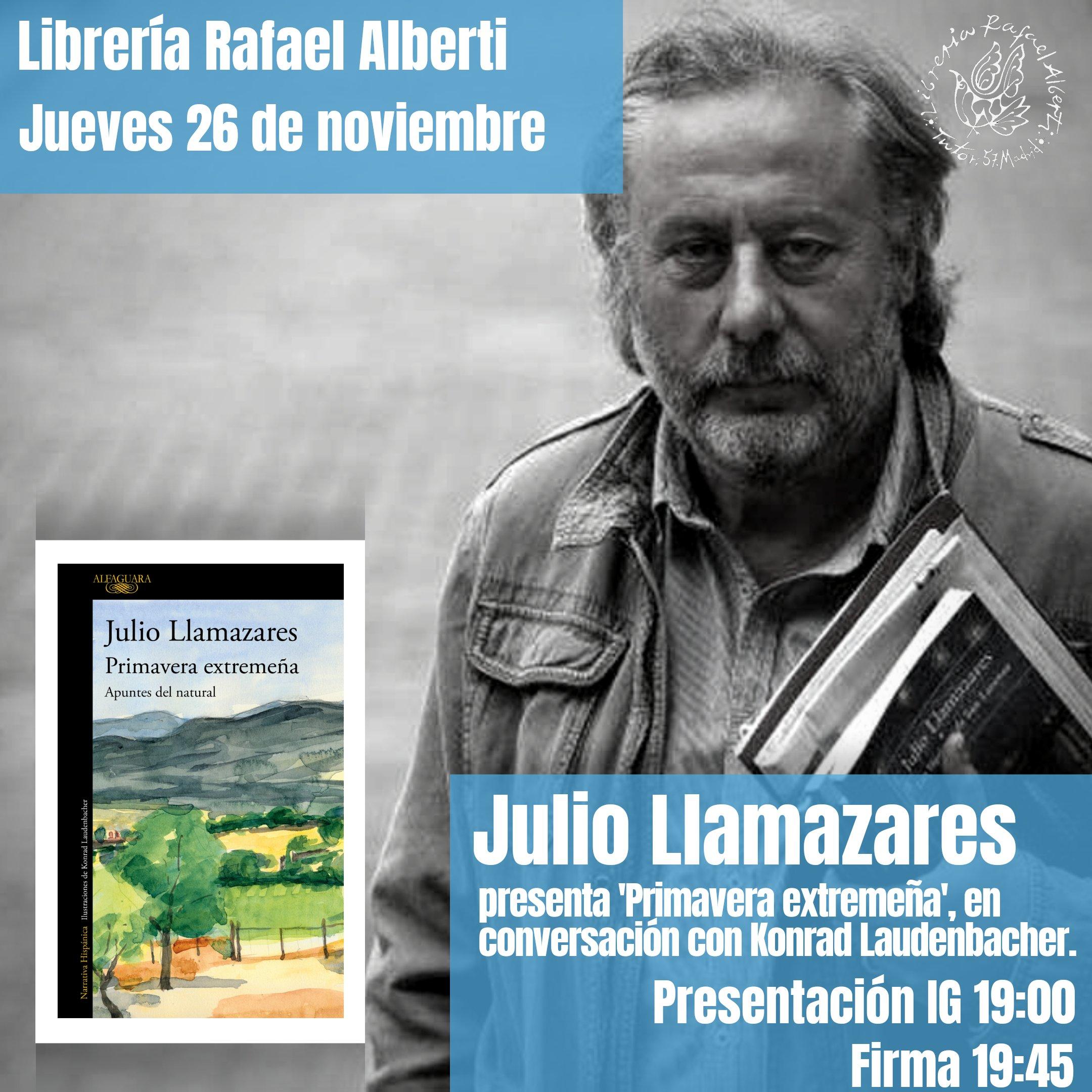 Julio Llamazares en Alberti