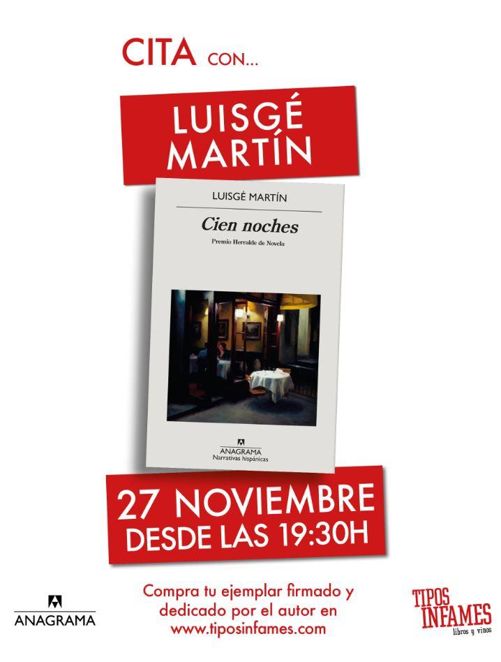 Cita con Luigé Martín