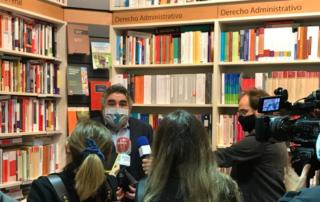 Minsitro de Cultura medios Marcial Pons